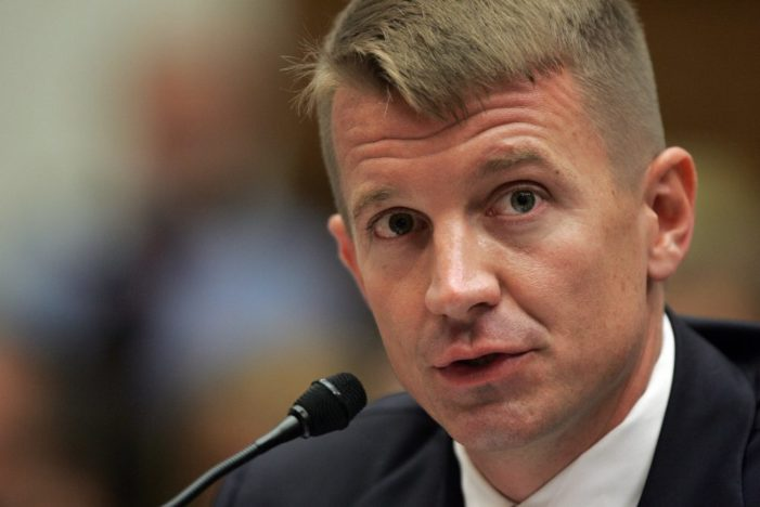Blackwater founder charges Washington Post and U.S. intelligence colluded to violate his rights