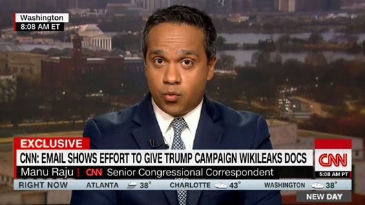 CNN in Hot Water Over Erroneous Trump-WikiLeaks Story