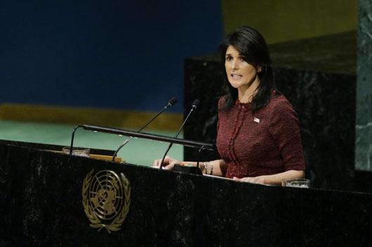 U.S. threatens to cut funding after UN resolution condemning Trump's Jerusalem policy