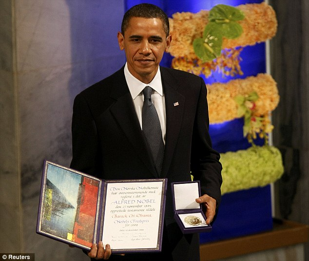 Israelis call for Obama to return Peace Prize after report on suppression of Hizbullah probe