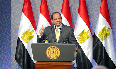 12 million petition Egypt's Sisi to seek 2nd term