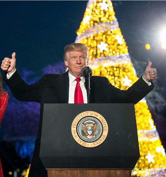 Trump Christmas: Here are 81 accomplishments in 12 categories he's putting under the tree