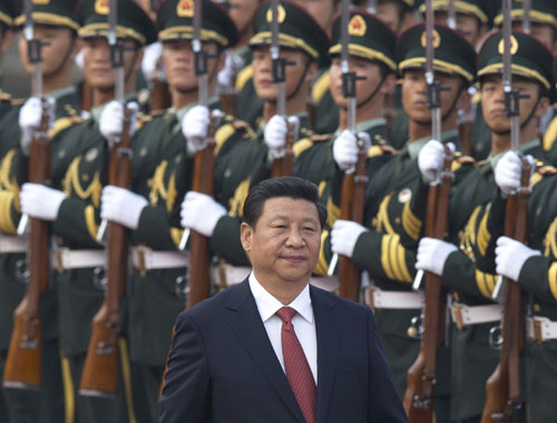 China's Xi Jinping moves national police under PLA control