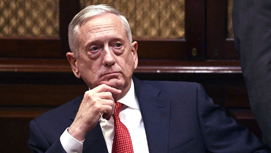 Who was most upset about the U.S. government shutdown? 'Mad Dog' Mattis