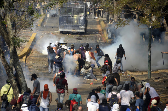 Meanwhile, in Mexico, the murder rate set records but compared to Venezuela it's a safe haven