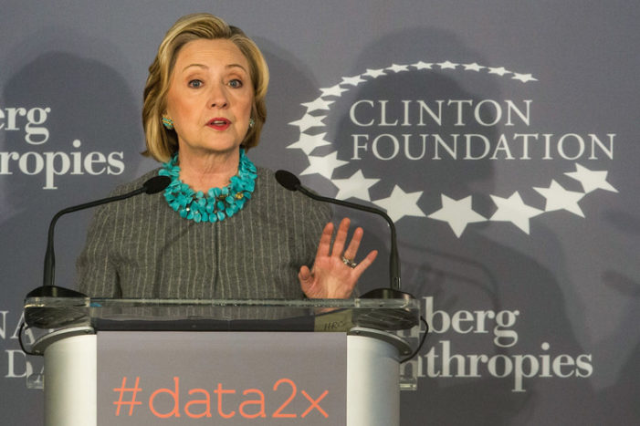 As statute of limitations for Hillary felonies expires, FBI re-opens probe of foundation