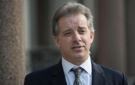 Was it his British accent? Fusion GPS was taken by dossier author's credentials
