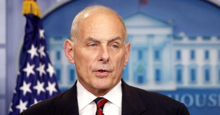 White House chief of staff sets terms for DACA deal: Limits on chain migration, $20 billion for wall