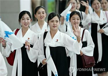 North Korean cheerleaders to lead charm offensive at winter games