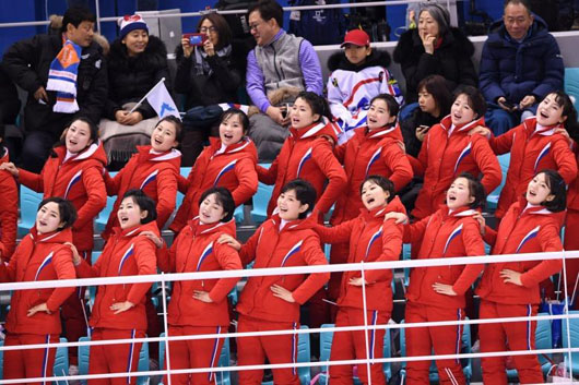 Slavery: Defector casts N. Korean cheer squad in different light