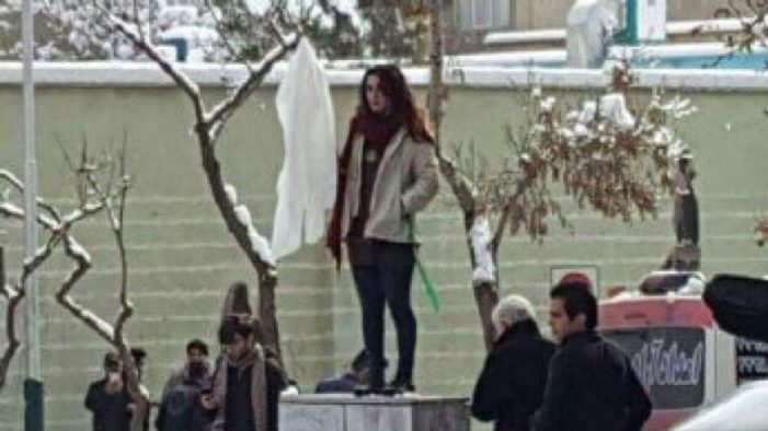 Iran arrests 29 women who removed head scarves, claims they were 'tricked' by social media