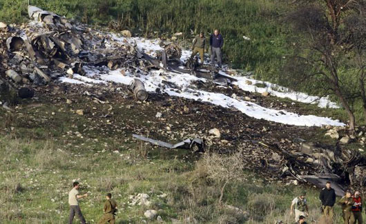 Israel targets 'Iranian' positions in Syria after F-16 downed