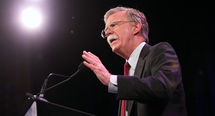 Trump names Bolton, a hawk on Iran and North Korea, as National Security Adviser