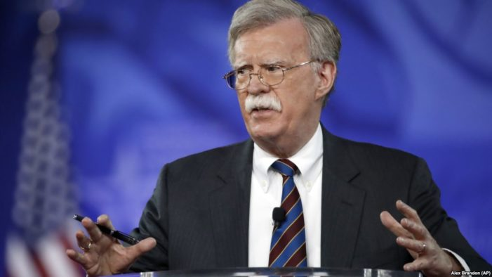 Iran calls Bolton's appointment 'a matter of shame'