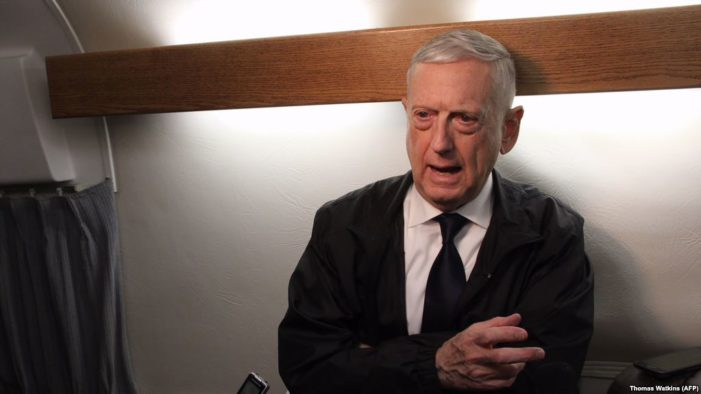 Mattis charges Iran 'using money' to influence Iraq elections