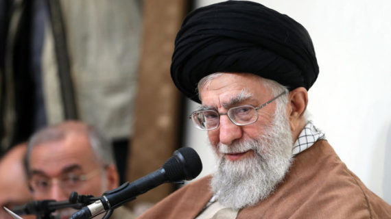 Khamenei hits 'malicious' U.S. presence in 'our region'