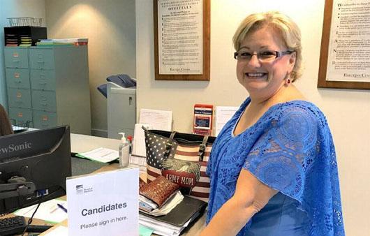 'Gun girl' challenges top Democrat in NC House