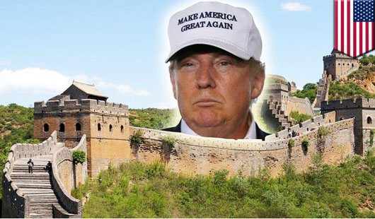 The Donald and The Wall: By over-promising, he over-delivered