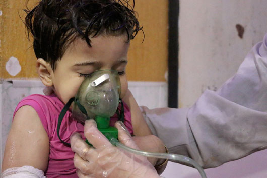 Trump administration calls out Russia and Iran after reported Syria chemical attack