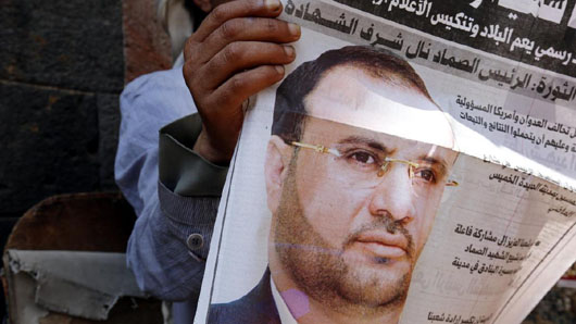 Houthi political chief killed in Saudi-led coalition airstrike