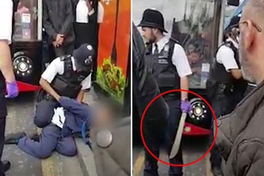 15 machete attacks per day in gun-free Britain