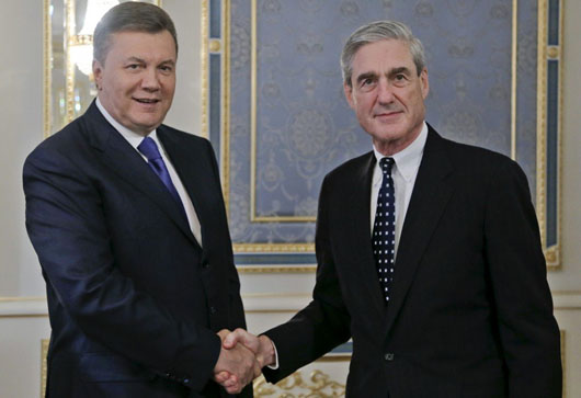 Say what? Mueller met Ukraininan president in 2013