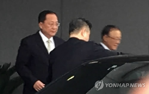 N. Korean foreign minister on trip to Beijing, Moscow following Kim trip
