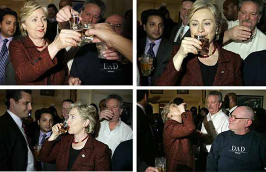 Book: Hillary would have been 'booziest' president since FDR