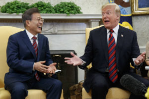 Leaders of both Koreas learn that Trump listens well but keeps own counsel