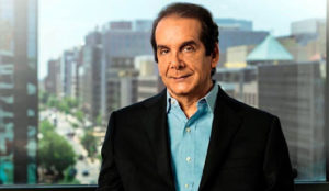 Charles Krauthammer, 68, last of the gentlemen columnists