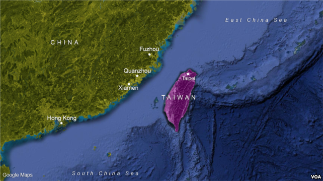 On same day as summit U.S. rattled China, dedicated massive new Taipei compound