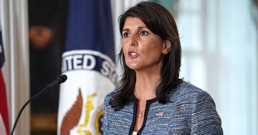 U.S. withdraws from 'self-serving' UN Human Rights Council