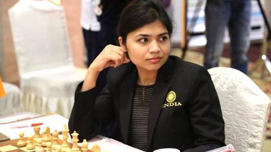 India chess player pulls out of tournament in Iran over headscarf rule