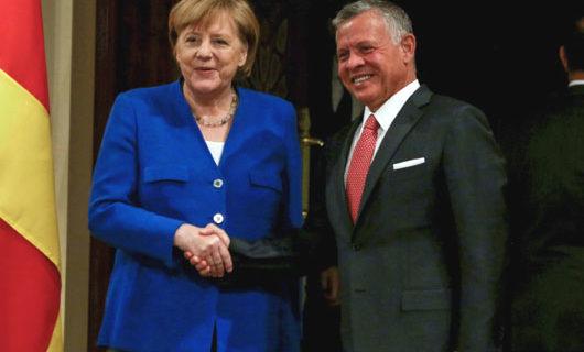 Merkel, in shift, tells European allies to 'urgently' address Iran's aggression