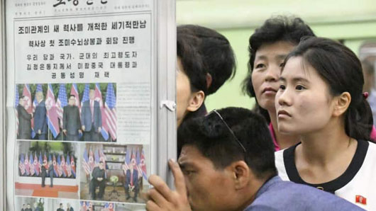 Something new for Donald Trump: A little respect … from N. Korea's state media