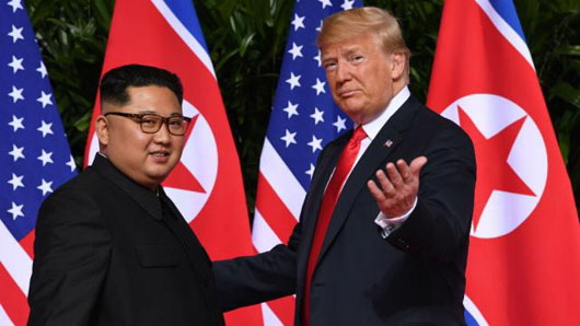Trump pitched Kim with Hollywood-produced video on N. Korea's future