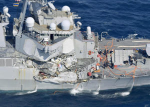 Mayday: Navy study finds 'concerns' with most officers' seamanship skills