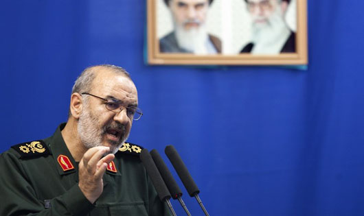 IRGC's Salami vows fight from Lebanon against 'poisoned dagger' in 'body of the Islamic ummah'