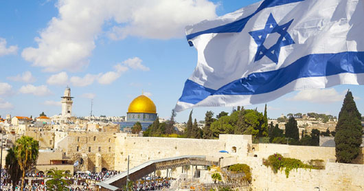 Israel, 100th in population size, is ranked 8th most powerful country