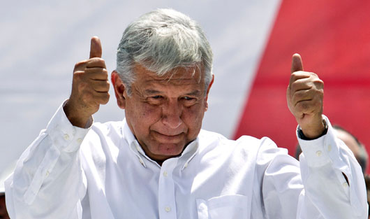 Mexico's president-elect wants 'new relationship' with Trump