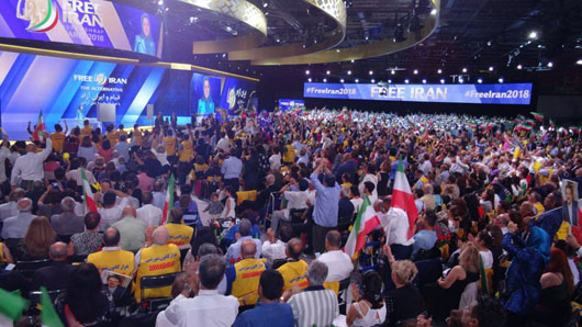 Couple arrested for planned attack on major Iran opposition rally in France