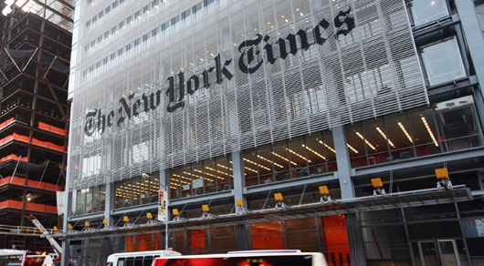 New York Times faults Israel's assist for Syrian relief workers