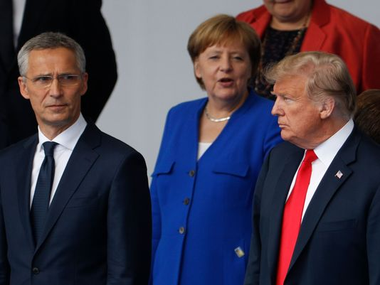 Transatlantic divide; NATO then and now