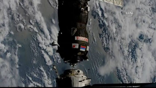 Russian cargo shipment reaches space station in record time