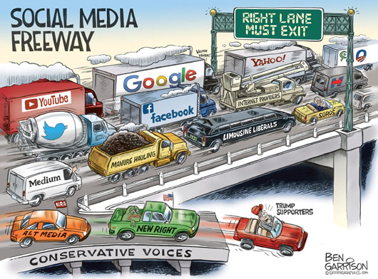 Silicon Valley titans launch censorship tsunami against critics deemed offensive
