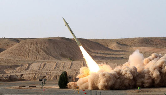 Report: Iran tested ballistic missile days before U.S. reimposed sanctions