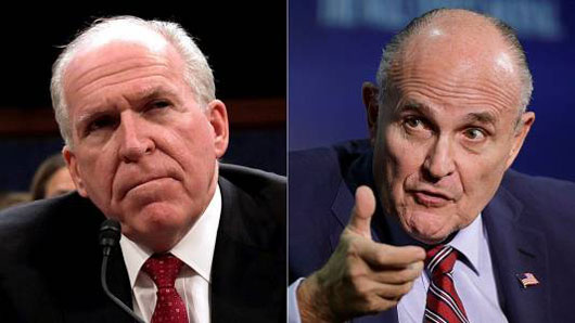 Giuliani: 'I'd love to have Brennan under oath'