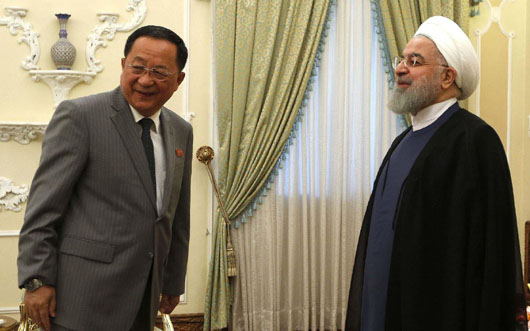 North Korea's foreign minister arrives in Iran as new sanctions hit