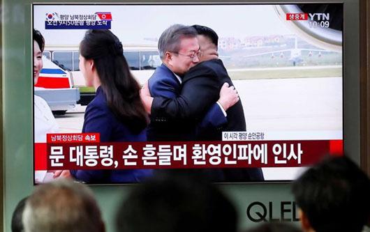 North Korean state mediahit U.S. inactionduring visit by Seoul leader