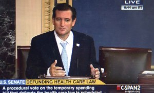 Cruz missile strike against a bureaucratic monstrosity and the ruling class